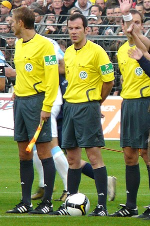 Marco Fritz - Fritz (middle) in 2008