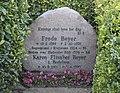 Frode og Karen Beyers gravsted på Rinkenæs kirkegård.jpg