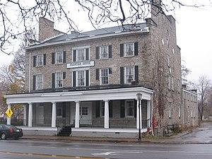 Frontier House (Lewiston, New York) - The Frontier House facing the Niagara River