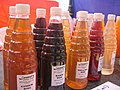 Fruit at a fruit festival in Goa 25. Fruit juices.jpg