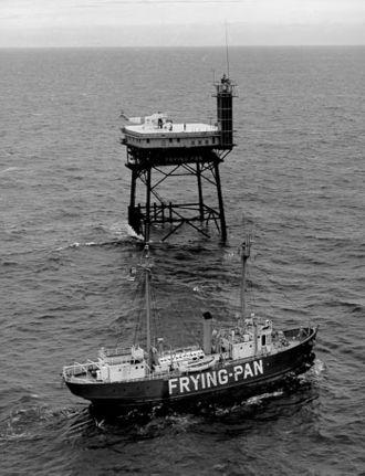 "Hispanics in the United States Coast Guard - ""Frying Pan"" Lightship No. 115"