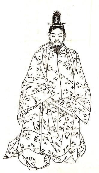 Fujiwara no Kintō - Fujiwara no Kintō by Kikuchi Yōsai