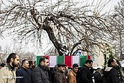 Funeral procession of a victim of Ukrainian Boeing 737-800 plane crash in Tehran 2020-01-20 04.jpg