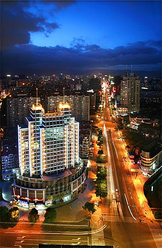 Fujian - Fuzhou, the capital and largest city in Fujian province