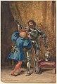 Göetz von Berlichingen Being Dressed in Armor by His Page George MET DP162299.jpg
