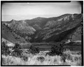 GENERAL VIEW, SOUTHWEST SIDE - York Bridge, Federal Aid Secondary Route 280, Helena, Lewis and Clark County, MT HAER MONT,25-HEL.V,3-1.tif