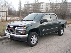 Chevrolet Colorado - GMC Canyon crew cab