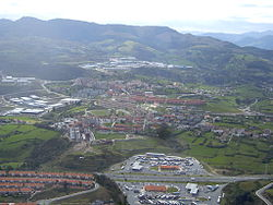Gallarta, municipality's main ward