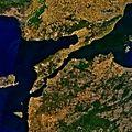 Gallipoli peninsula from space.jpg