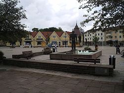 Tidaholm Old Town Square