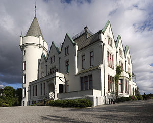 Gamlehaugen - The main building seen from the north-west.