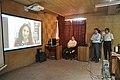 Ganga Singh Rautela Skyping With Natalie Batalha - Professional Enrichment Programme On Astronomy Awareness - NCSM - Kolkata 2011-09-20 5350.JPG