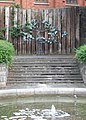 Garden and sculpture - geograph.org.uk - 1470988.jpg