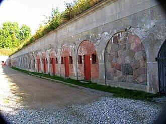 Garderhøj Fort - Image: Garderhoejfort Lokummer