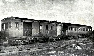 South African gas-electric locomotive - Experimental gas-electric locomotive, c. 1923