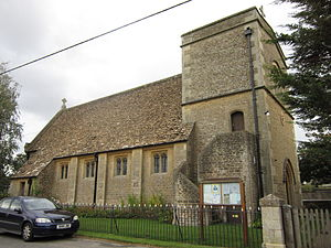Gastard - Parish church of St John the Baptist