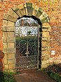 Gate at Cannon Hall - geograph.org.uk - 1090790.jpg