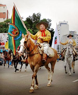 Gaucho-a-cavalo