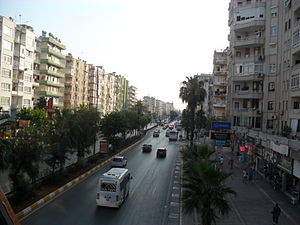 Gazi Mustafa Kemal Boulevard - GMK Boulevard from the overpass
