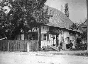 Lorenz Oken - Birthplace in Ortenau (Bohlsbach, Baden). Old picture postcard from 1880.