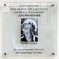 Gedenktafel Crellestr 41 (Schön) Joachim Kemmer.jpg
