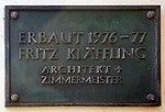 Gedenktafel Hindenburgdamm 83a (Lifel) Fritz Kläffling.jpg