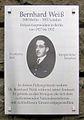 Gedenktafel Kaiserdamm 1 (Charl) Bernhard Weiß.jpg