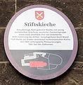 Gedenktafel Schloßberg (Quedlinburg) Stiftskirche.jpg