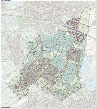 Lansingerland - Image: Gem Lansingerland Open Topo