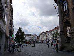 Stadtplatz von Molenbeek