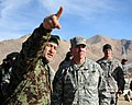 Gen. Bismillah Mohammadi directs Lt. Gen. Caldwell (4250776949).jpg