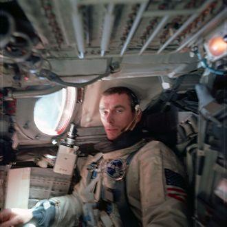 Eugene Cernan - Cernan aboard Gemini IX-A