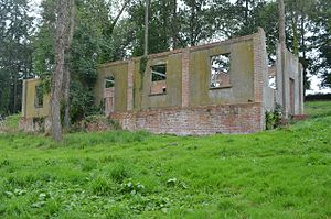 Hestercombe House - Remains of barracks block in the grounds