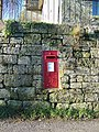 George V postbox, Donhead St Andrew - geograph.org.uk - 1091927.jpg