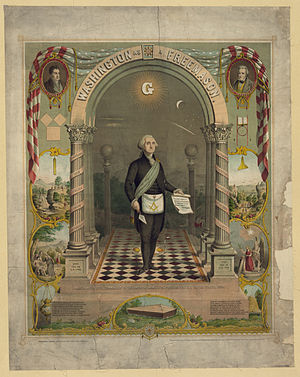 County surveyor - George Washington, freemason