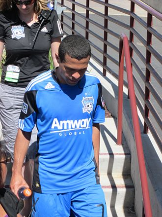 Geovanni - Geovanni with San Jose Earthquakes in 2010