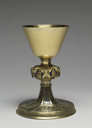 Chalice - Chalice with Saints and Scenes from the Life of Christ