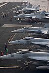 Getting the planes going aboard the USS Ronald Reagan DVIDS116095.jpg