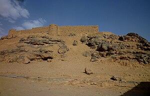 Fortress of Ghat - Image: Ghat Festung Koukemen, im frühen 20. Jahrh. von Italienern erbaut 03