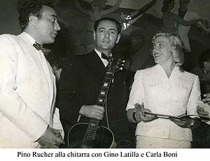 Carla Boni - Gino Latilla, Pino Rucher, Carla Boni