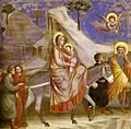 Giotto' Flight into Egypt excerpt.jpg