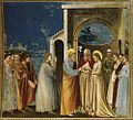 Giotto di Bondone - No. 11 Scenes from the Life of the Virgin - 5. Marriage of the Virgin - WGA09183.jpg