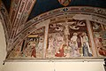 Giovanni cristiani e bottega, natività, crocifissione con santi e compianto, 1390 ca. 01,1.jpg