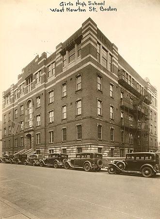 Boston Latin Academy - Original building for Girls' High School and Girls' Latin School