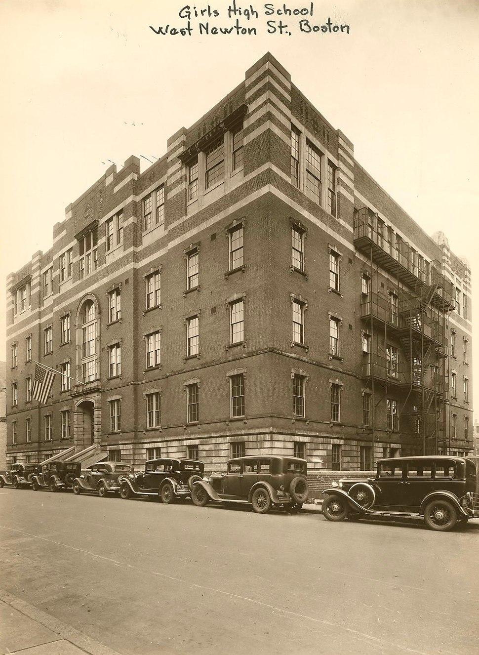 Girls' High School - 0403002067b - City of Boston Archives