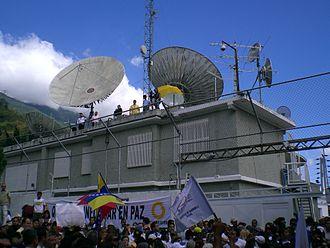 Globovisión - Globovisión building, Caracas