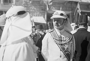 Royal Jordanian Army - Commander of the Arab Legion, Glubb Pasha in uniform. Amman, September 11, 1940