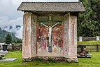 Gnesau Zedlitzdorf Friedhof Kapelle mit Kruzifix 24092017 1240.jpg