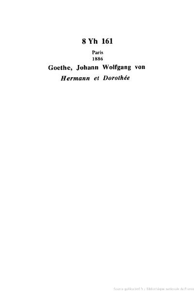 File:Goethe - Hermann et Dorothée, 1886, trad. Boré.djvu