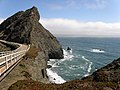Golden Gate National Park Light House Bridge - panoramio.jpg